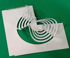 3d kirigami diy | Mashustic.com Origami Templates, Origami And Kirigami, Origami Paper Art, Box Templates, Architecture Concept Drawings, Paper Architecture, Cardboard Sculpture, Sculpture Art, Paper Toys