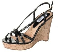 f0caf8fe3695 I love cork wedges. Strappy Heels