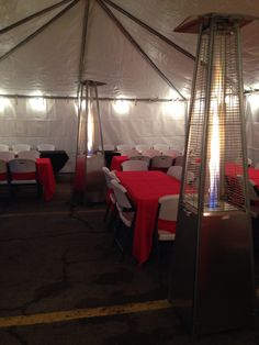 Patio Heaters, Linens, Tables & Chair Rentals 915.539.2227