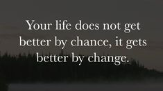 """""""Your life does not get better by chance, it gets better by change."""" A good reminder to take personal responsibility and assert your initiative—being proactive and living by design rather than by default. ... """"If one advances confidently in the direction of his dreams, and endeavors to live the life which he has imagined, he will meet with a success unexpected in common hours."""" –Henry D. Thoreau #TakeAction #BeYourBest"""