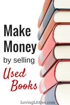 Need to make money quickly? Try selling used books. I've been working with this company for a decade to turn used books into cash. It's fast and easy! Make Money Money Making Ideas Work From Home Jobs, Make Money From Home, Way To Make Money, How To Make, Sell Used Books Online, Sell Books, Selling Online, Selling On Ebay, Money Matters