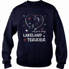 I Love my #Lakeland #Terrier, Order HERE ==> https://www.sunfrog.com/Pets/I-Love-my-Lakeland-Terrier.html?53624, Please tag & share with your friends who would love it, #renegadelife #xmasgifts #birthdaygifts   #holidays #events #gift #home #decor #humor #illustrations