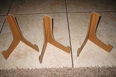 Homemade Home: Cardboard Easels