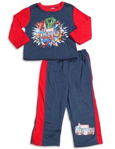 Marvel Heroes - Toddler Boys 2 Piece Marvel Heroes Fleece Pant Set, Navy, Red 30154-2T Item 30154. Marvel Heroes. Machine Wash, Tumble Dry. True to Size.