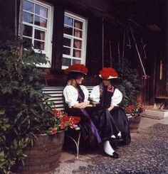 Dress in the Black Forest, Germany