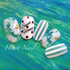 Cool nail design for summer - Best Trend Nails Cute Nail Art, 3d Nail Art, Cute Nails, Pretty Nails, Beautiful Nail Designs, Beautiful Nail Art, Cool Nail Designs, Asian Nails, Japan Nail