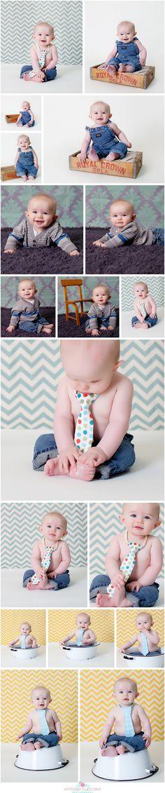 6 Month Boy Session - Denver, CO Photographer