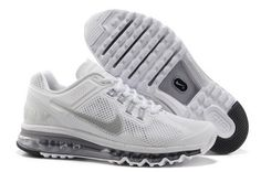 More and More Cheap Shoes Sale Online,Welcome To Buy New Shoes 2013 Womens Nike  Air Max 2013 White Reflective Silver Wolf Grey Shoes [New Shoes - Womens ...
