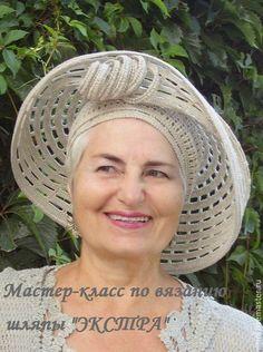 """Шляпы ручной работы. Ярмарка Мастеров - ручная работа. Купить Мастер-класс по вязанию шляпы """"Экстра"""". Handmade. Мастер-класс"""