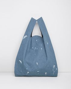 MM6 by Maison Margiela | Painted Denim Tote