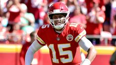 a2b11a70d53 Mahomes sets NFL mark with 13th TD of season