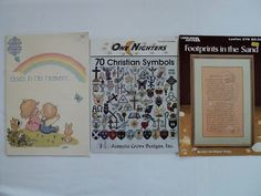 Vintage  Religious Counted Cross Stitch by DocksideDesignsEtc, $11.50