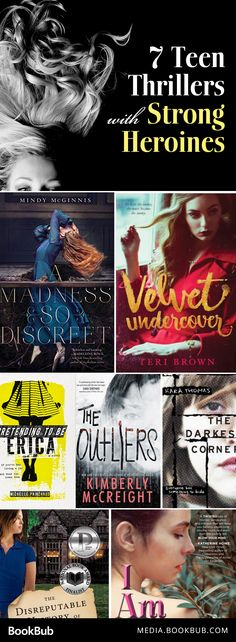 7 thriller books to read for young adults. Adults will love these teen novels, too!