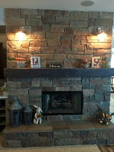 Shop at Rustic Wood Accents for all the best Reclaimed & Rustic Wood Mantels. Tell us your design & have it prepared for you in no time. Reclaimed Wood Mantel, Wood Mantels, Fireplace Mantels, Rustic Wood, Mountain Decor, Wood Accents, Beams, Condo, Flooring