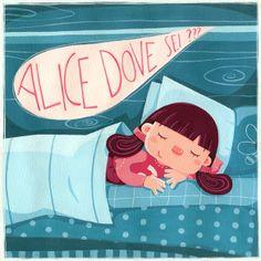 Alice Cascherina by Silvia Sponza, via Behance