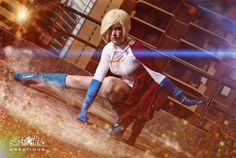 Character: Power Girl (Kara Zor-L, aka Karen Starr) / From: DC Comics 'Power Girl' & 'Justice Society of America' / Cosplayer: Ally McLean (aka Eve Beauregard) / Photo: Superhero Creations by Adam Jay (aka MrAdamJay)