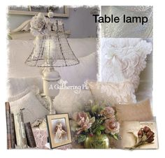 """""""Table lamp contest"""" by barbara-gennari ❤ liked on Polyvore featuring interior, interiors, interior design, home, home decor and interior decorating"""