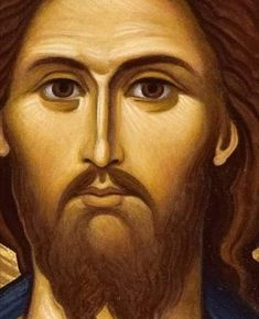 Jesus Art, Jesus Christ, Christ Pantocrator, Christian Religions, Son Of God, Orthodox Icons, Christianity, Drawings, Face
