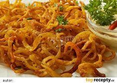 l Onion Rings, Dip, Spaghetti, Ethnic Recipes, Food, Salsa, Essen, Meals, Yemek