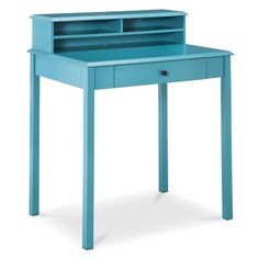 writing desk. Threshold™ Windham Desk with Hutch - Teal