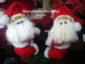 Colección de patrones y moldes de muñecos de navidad que EcoArtesanias comparte para esta Navidad 2014-2015. Veras las ultimas novedades navideñas compartidas por amig@s de la web, con mucho cariño para tod@s. (**encuentre más en: [Muñecos Nav