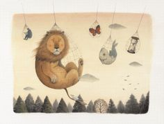 The Lion and the Mouse by Ayano Imai.