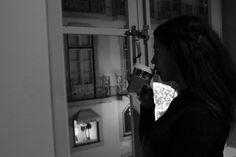 Tumblr #girl #aesthetic #starbucks #b&w