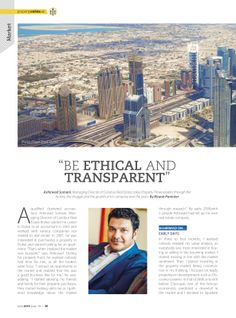 BE ETHICAL AND TRANSPARENT