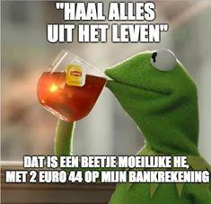 Haha Funny, Funny Jokes, Funny Shit, Funny Stuff, Dutch Quotes, Good Jokes, My Tea, Stupid Memes, Sarcasm
