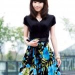 Flower Printed Outfits With Japanese Style, Styles For 2013