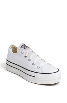 Converse Chuck Taylor® Platform Sneaker (Women) available at #Nordstrom - cute for short people like me!
