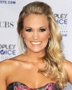 Carrie Underwood Side Part Hairstyles 2012 - PoPular Haircuts Side Part Hairstyles, Holiday Hairstyles, Formal Hairstyles, Celebrity Hairstyles, Pretty Hairstyles, Wedding Hairstyles, Hairstyle Men, Funky Hairstyles, Weave Hairstyles
