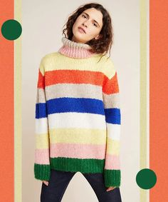 Oversized Turtleneck Sweaters For Women This Winter