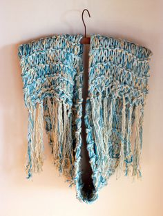 organic knitted scarf