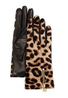 Diane von Furstenberg Leopard-Print Calf Hair and Leather Gloves http://rstyle.me/~3eajC