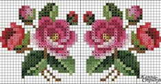 This Pin was discovered by Nur Just Cross Stitch, Cross Stitch Cards, Beaded Cross Stitch, Cross Stitch Borders, Cross Stitch Flowers, Cross Stitch Kits, Cross Stitching, Cross Stitch Embroidery, Hand Embroidery