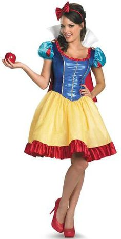 Disney Princess Snow White Fab Deluxe Adult Costume Plus