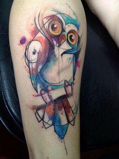 tatuagem ovni aquarela - Pesquisa Google