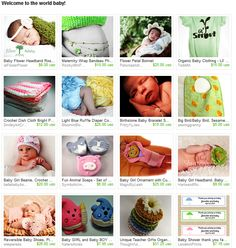 Welcome to the World Baby  An Etsy Collection by PreciousBowtique