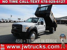 2011 Ford F-450 DUMP TRUCK - Dump Truck Exchange Ford Trucks For Sale, Getting Dumped, Black Door Handles, Black Doors, Driving Test, Bodies, Engineering, The Unit, Ads