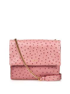 Sugar mini ostrich-effect leather cross-body bag | Lanvin | MATCHESFASHION.COM AU