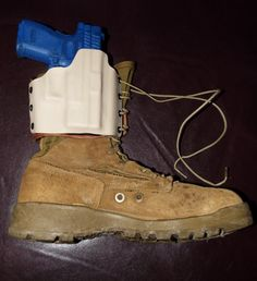 Gould and Goodrich Elastic BootLock Ankle Holster Boot Holster, Holsters, Tac Gear, Kydex, Tactical Gear, Timberland Boots, Firearms, Gears, Ankle