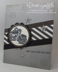 One Wild Ride Dawn Griffith Million Dollar stamp set Basic Black and Smoky Slate…