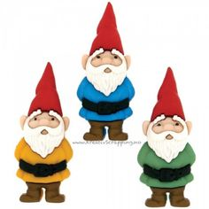 Garden Gnome Buttons Pkt of 3 Dress It Up Jesse J ames Sewing Crafts Quilting Boutique Scrapbooking, Fabric Artwork, Up Theme, Elves And Fairies, Gnome Garden, Arts And Crafts Supplies, Sewing A Button, Joanns Fabric And Crafts, Sewing Crafts