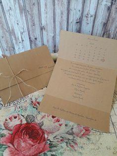 Προσκλητήριο γάμου craft τρίπτυχο σε διαστάσεις 21×13 εκ. κλειστό και 30×21 εκ. ανοιχτό. Το είδος του χαρτιού είναι craft 300gr και δεν χρειάζεται φάκελο. #gamos #γάμος#γαμος#craft#prosklitirio#προσκλητήριο#οικολογικοχαρτι#πρόσκληση#προσκλητηριογαμου#prosklitiriogamou