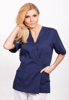 Bluza Kimono Model Cordon TG-002 - aspect elegant, confort maxim, rezistenta sporita. Destinate industriei alimentare, farmaceutice sau spitalelor, ideal pentru utilizarea de catre medici, asistente medicale in cabinete medicale, spitale, policlinici, etc. Produsele au o gama variata de culori si sunt realizate din materiale agreate de normele UE: 75% bumbac, 25% vascoza.   http://incaltamintemedicala.ro/uniforme-medicale/tg-002-bluza-kimono-model-cordon-tag