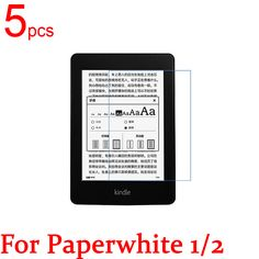 5pcs Ultra Clear/Matte/Nano anti-Explosion LCD Screen Protector Film Cover For Amazon Kindle Paperwhite 1/2 Protective Film