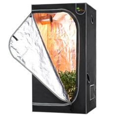 Earth Worth 32X32X63 Mylar Hydro Shanty Hydroponics Indoor Grow Tent  Earth Worth Quality at an Affordable Price -- Click on the image for additional details.