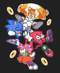 Sonic 3, Sonic Fan Art, Sonic Fan Characters, Cute Characters, Sonic The Hedgehog, Doctor Eggman, Comic Art, Comic Books, Edge Of Tomorrow