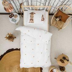 dekbedovertrek konijn/eekhoorn - enkel bed